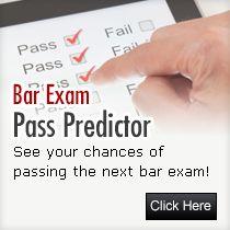Bar exam result predictor | Bar exam pass predictor